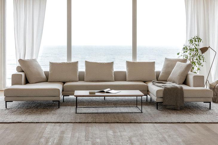 design de qualité 8787f 7789b Le canapé profond : confort maximum - France Canapé