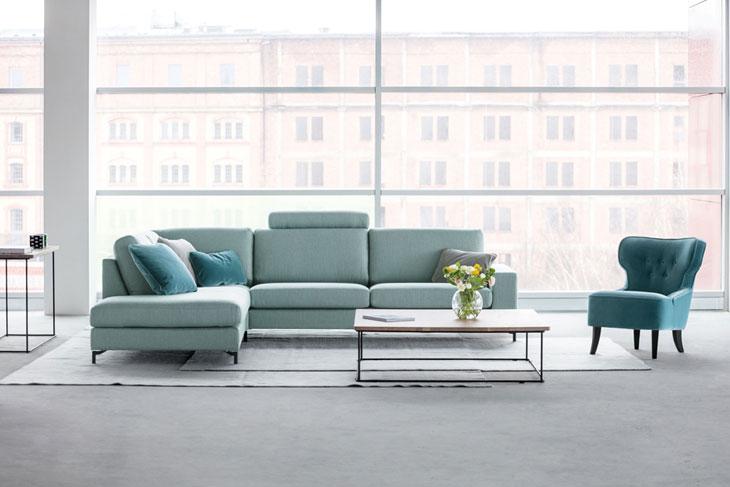 salon gris et bleu les conseils d un expert france canap. Black Bedroom Furniture Sets. Home Design Ideas