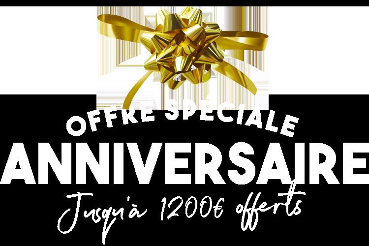 FRANCE CANAPÉ - Offre Spéciale Anniversaire - Jusqu'à 1200€ offerts
