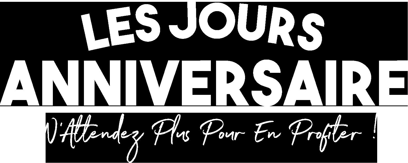 LES JOURS ANNIVERSAIRE FRANCE CANAPÉ : JUSQU'À -60% DE REMISE